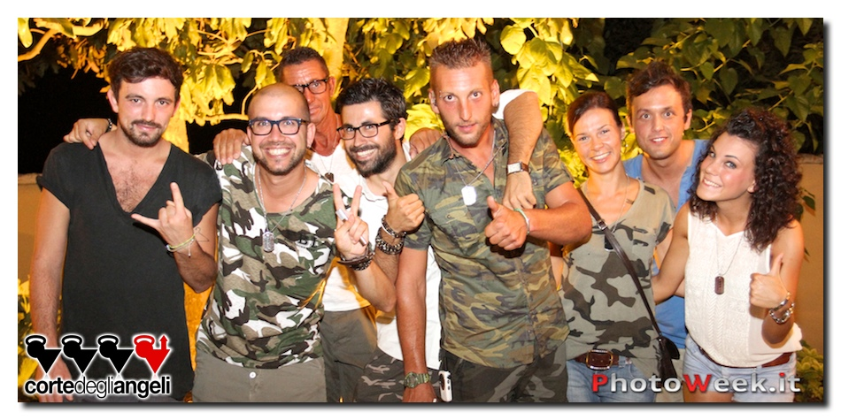 Corte degli Angeli - MILITARY PARTY