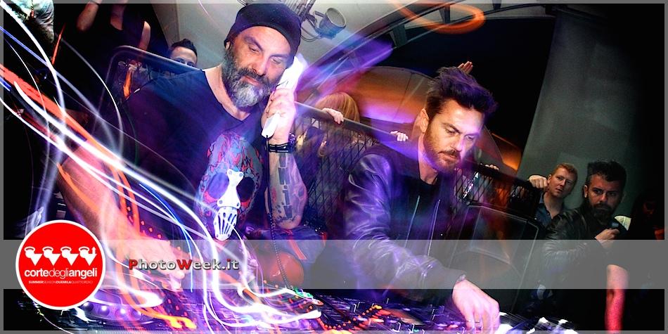 Tommy Vee & Mauro Ferrucci @ Corte degli Angeli