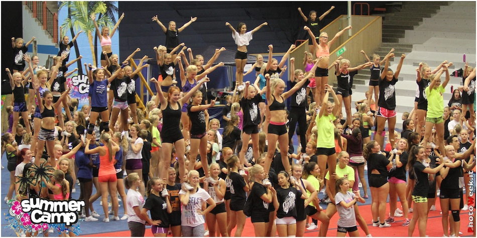 Cheer Summer Camp 2014 Borås - Sweden