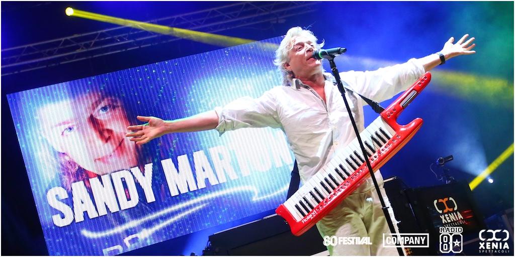 Sandy Marton, 80 Festival, Radio Company, Mauro Tonello, Xenia Spettacoli